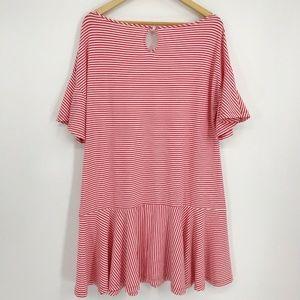 Vineyard Vines Dresses - Vineyard Vines Stripe Flutter Sleeve Flounce Dress